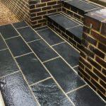 Rebuilt steps Welwyn 2
